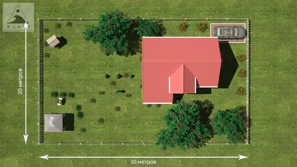 как привязать объекты недвижимости к земельному участку